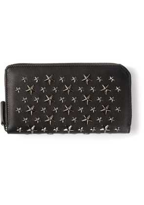 Jimmy Choo zipped stars wallet - Black