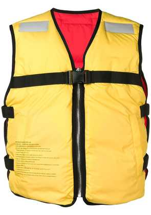 Doublet Life Jacket padded vest - Yellow