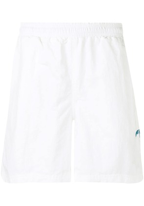 Pop Trading International Snowy shorts - White