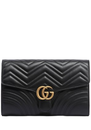 GG MARMONT 2.0 LEATHER CLUTCH