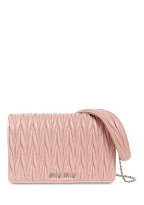 MINI DELICE QUILTED LEATHER SHOULDER BAG