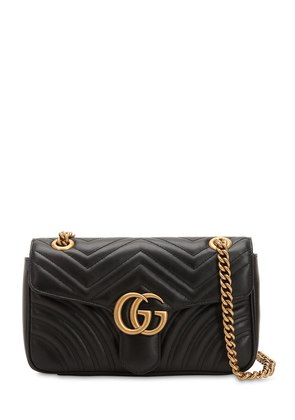 SMALL GG MARMONT 2.0 LEATHER BAG
