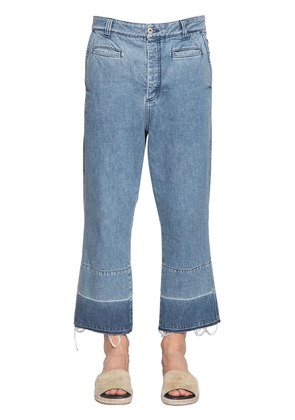 FISHERMAN COTTON DENIM JEANS