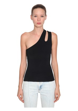 SLEEK ASYMMETRIC TANK TOP