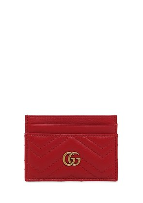 GG MARMONT 2.0 LEATHER CARD HOLDER