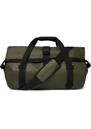 Filson - Leather-trimmed Shell Duffle Bag - Green