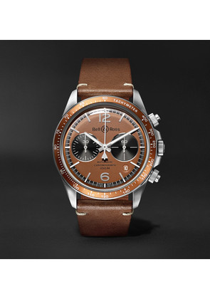 + Revolution Bellytanker Dusty Limited Edition Chronograph 41mm Steel And Leather Watch
