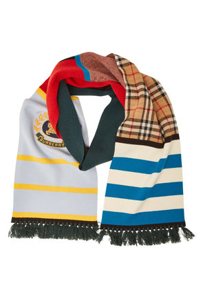Burberry Cashmere Scarf with Embroidery