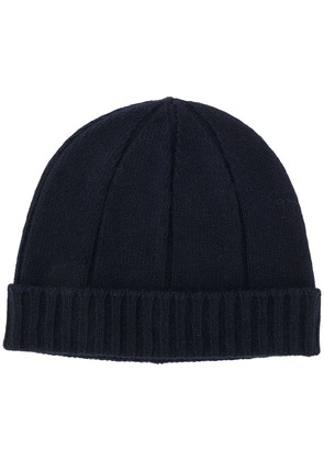 A.P.C. knitted beanie hat - Blue