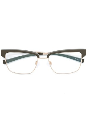 Jil Sander square shaped frame - Green