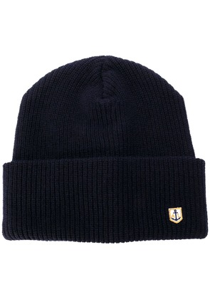 Armor Lux basic beanie hat - Blue