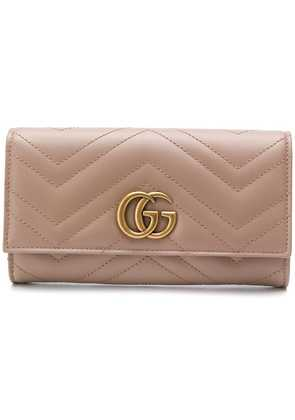Gucci GG Marmont Continental wallet - Neutrals
