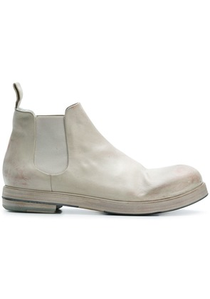 Marsèll painted Chelsea boots - Grey