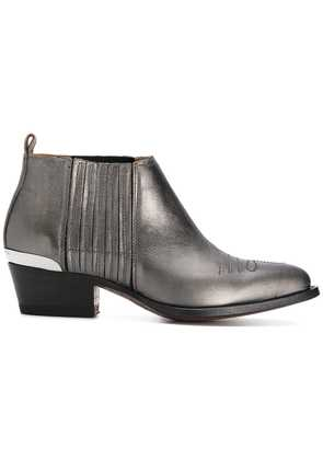 Buttero western style boots - Grey