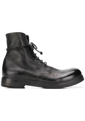 Marsèll polished toe ankle boots - Black