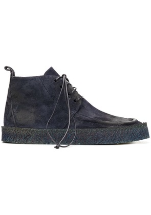 Marsèll distressed ankle boots - Blue