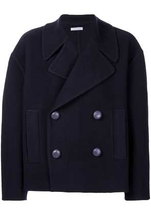 JW Anderson oversized cropped peacoat - Purple