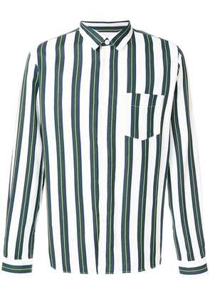 A.P.C. large stripes shirt - White