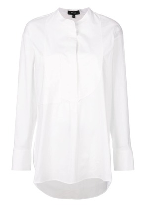 Theory modern bib shirt - White