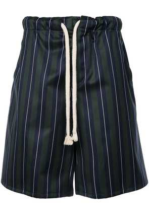 Loewe striped drawstring shorts - Green