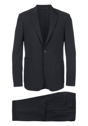 Z Zegna fitted two piece suit - Blue