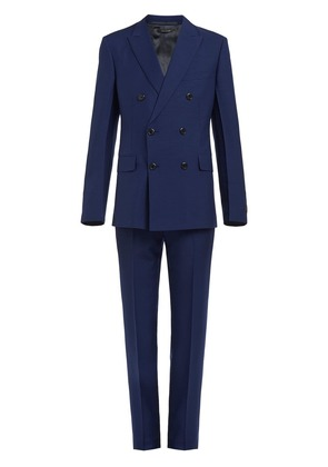 Prada double-breasted suit - Blue