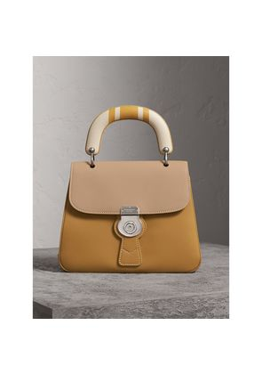 Burberry The Medium DK88 Top Handle Bag with Geometric Print, Yellow