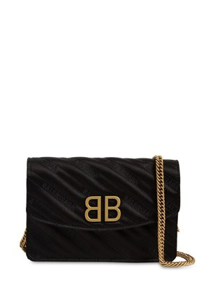 BB CHAIN WALLET SATIN BAG
