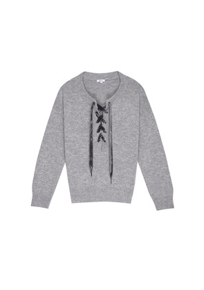 Olivia Sweater - Heather Grey