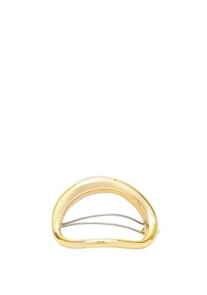 Charlotte Chesnais - Turtle Gold Plated Hair Clip - Womens - Gold