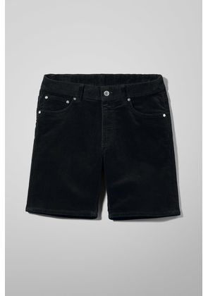 Lucas Corduroy Shorts - Black