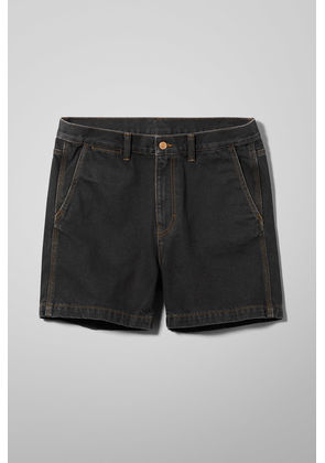 Coin Tuned Black Shorts - Black
