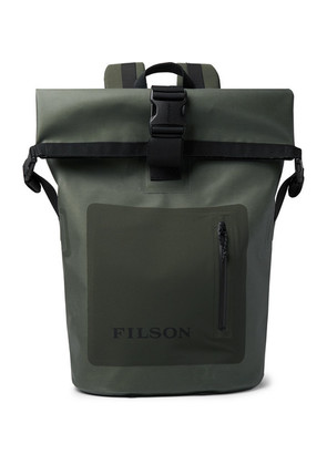 Filson - Dry Waxed-canvas Roll-top Backpack - Green