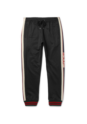 Striped Tech-jersey Sweatpants