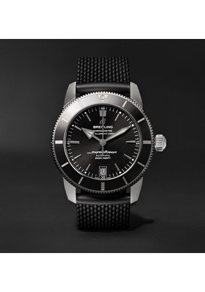 Superocean Héritage Ii B20 Automatic 42mm Stainless Steel And Rubber Watch