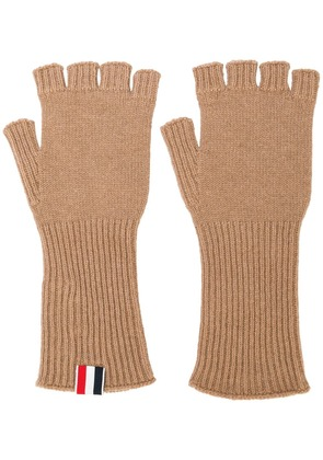 Thom Browne Fingerless Cashmere Gloves