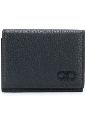 Salvatore Ferragamo double Gancio wallet - Black
