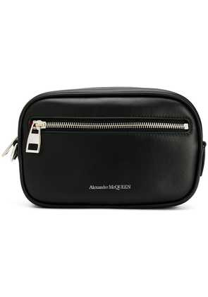 Alexander McQueen classic wash bag - Black