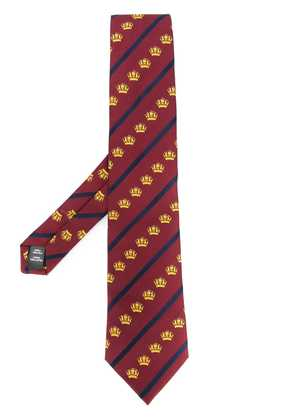 Gieves & Hawkes patterned tie - Red