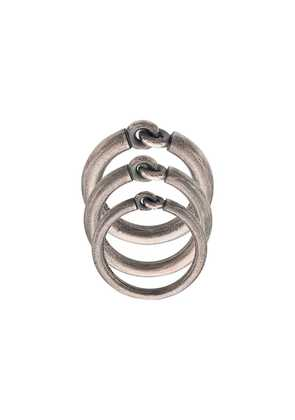 M. Cohen The Solstice ring set - Silver