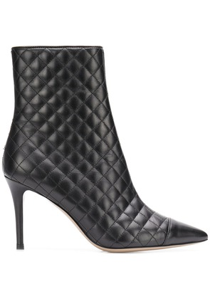 Fabio Rusconi pointed toe ankle boots - Black