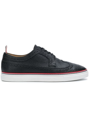 Thom Browne Contrast Cupsole Longwing Brogue - Black