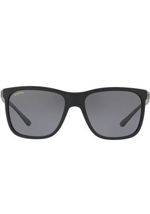 Bulgari square shaped sunglasses - Black