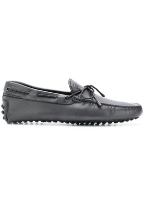 Tod's tie bow loafers - Grey