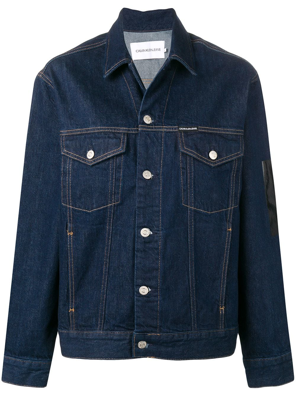 91c7b2f32bc ck-jeans-rear-print-buttoned-jacket-blue-farfetch-com-photo.jpg 1542256919