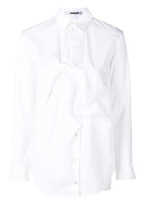 Chalayan pinch detail shirt - White