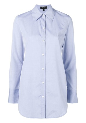 Theory classic formal shirt - Blue