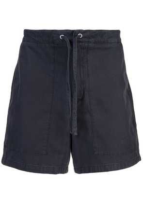 YMC Herringbone Nam shorts - Blue