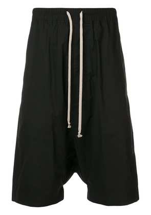 Rick Owens DRKSHDW oversized drop-crotch shorts - Black