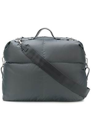 Jil Sander padded holdall bag - Grey